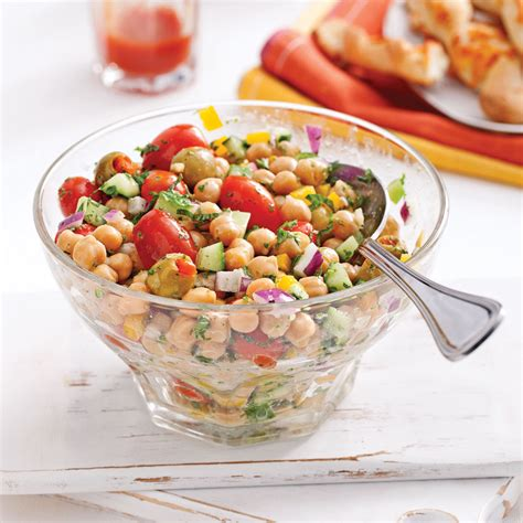 cuisine pois chiche salade de pois chiches olives vertes et menthe recettes