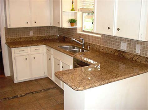 new granite countertop for your fitted kitchen design