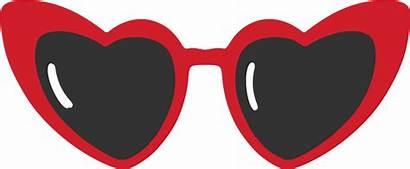 Sunglasses Heart Clipart Transparent Clip Wetland Safari