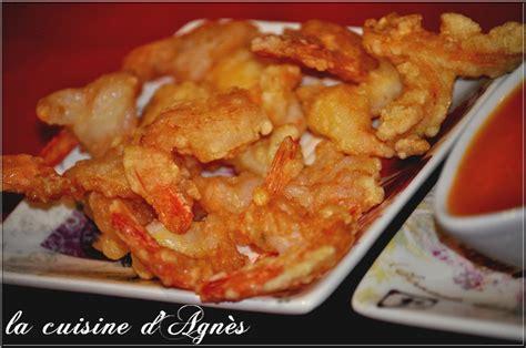 cuisiner les crevettes crevettes frites sauce aigre douce la cuisine d 39 agnèsla
