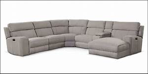 Newport 6 piece power reclining sectional with left facing for Power reclining sectional sofa with chaise