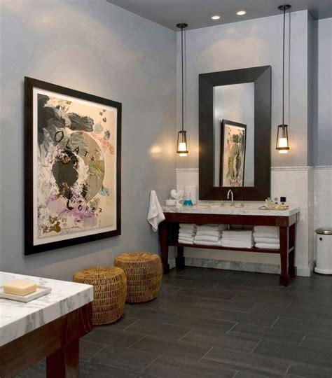 tableau salle de bain  cadre decoratif en  idees top