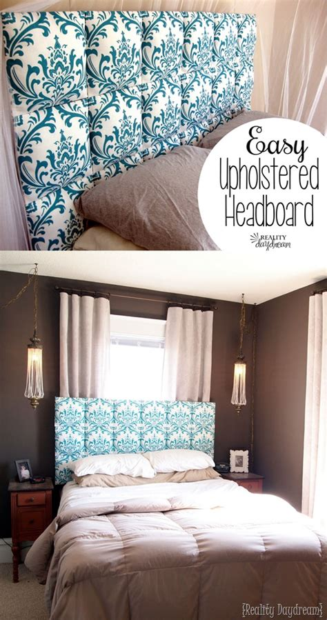 Easy Upholstered Tufter Headboard Tutorial Reality Day Dream