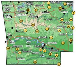 Northwest Arkansas Map