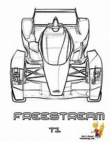 Coloring Freestream Cars Formula Colouring Racing Supercars V8 Mega Speed Yescoloring Nascar sketch template