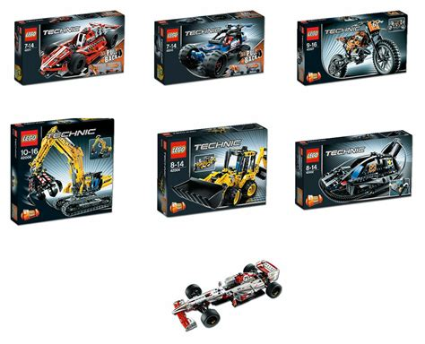technic sets 2013 technic sets complete line up the car blog