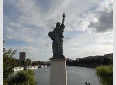 Die Freiheitsstatuen in Paris Paris mal anders