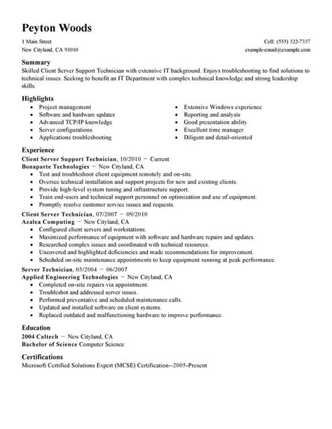Server Duties For Resume by Waiter Resume Sle Cover Letter Housekeeping And