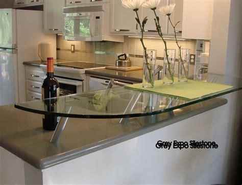 grey expo silestone kitchen projects cocina comedor comedores cocinas