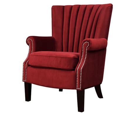 Faringford Red Pepper Velvet Fireside Armchair