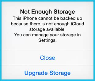 no storage on iphone iphone quot not enough storage quot message is driving me