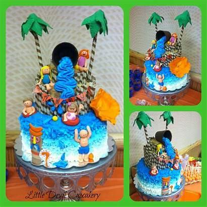 Birthday Park Water Cakes Cake Theme Party