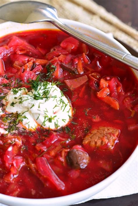 borscht recipe  cook  smiles