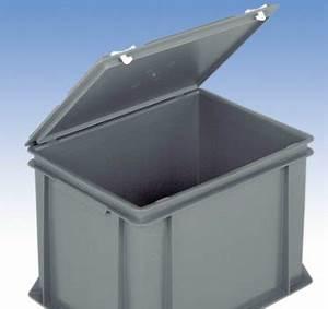 Bac Plastique Avec Couvercle : bacs en plastique gerbables pleins tous les fournisseurs ~ Edinachiropracticcenter.com Idées de Décoration