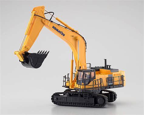 kyosho 1 50 komatsu pc1250 8 hydraulic excavator radio band c kyo66002hgc b cars trucks