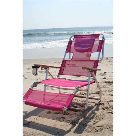 ostrich 3 in 1 chaise lounger pink lounger beachkit