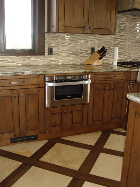 wood or tile in kitchen 1000 images about wood look porceline tile on 1945