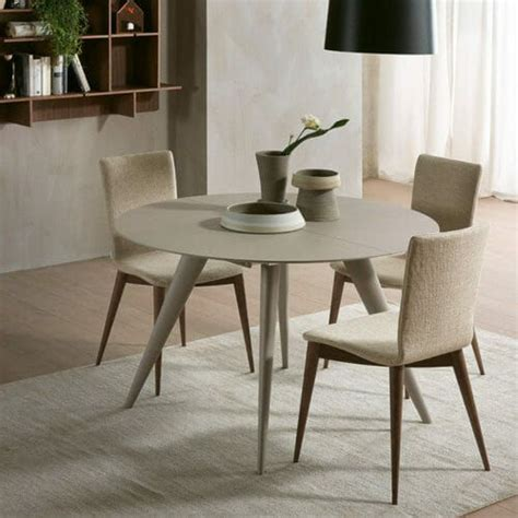 Italian marble foldable coffee sofa side table extendable luxury coffee table. Elegance Transforming Table | Resource furniture, Round extendable dining table, Dining table