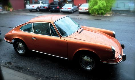 vintage orange porsche a porsche 912 in a gorgeous metallic rust orange color