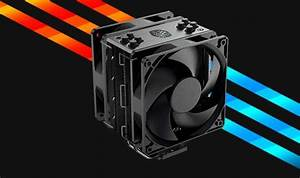 Air Fin Fan Cooler Design Cooler Master Hyper 212 Black Edition Cpu Cooler Review
