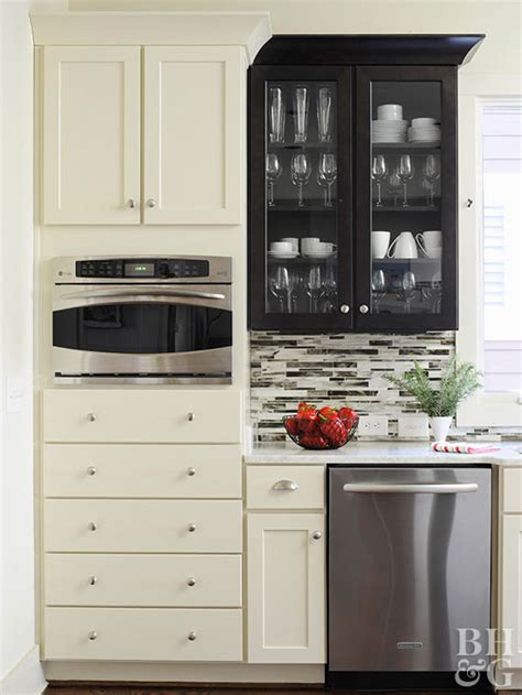 kitchen makeover cost low cost cabinet makeovers better homes gardens 2259