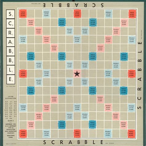 standard scrabble tile distribution code golf draw an empty scrabble board programming