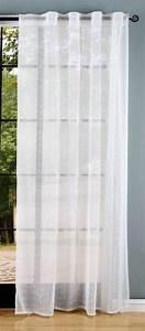 Leinen Gardinen Weiß : gardine webstruktur leinen optik transparent verdeckte ~ Whattoseeinmadrid.com Haus und Dekorationen