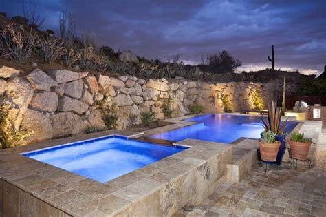 pool patio and spa set geometric swimming pool gallery presidential pools spas