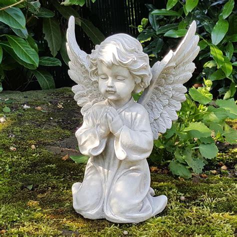 Engel Der Den Garten Bewacht by Engel Garten Dekofigur Engelsfigur Cherubim Statue
