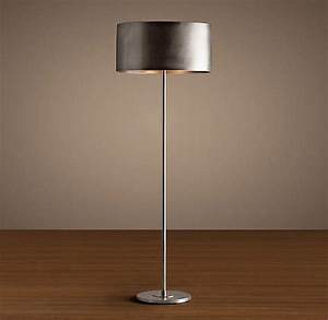 Arched floor lamp with drum shade for Arched floor lamp with drum shade