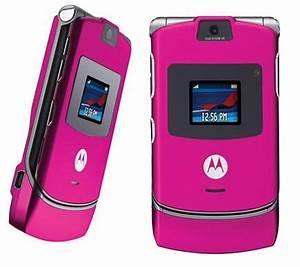 Motorola RAZR V3 Camera Flip Pink Phone MyFavs T Mobile ...