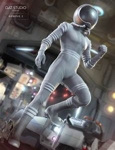 Retro Space Suit for Genesis 2 Male(s) | 3D Models and 3D ...