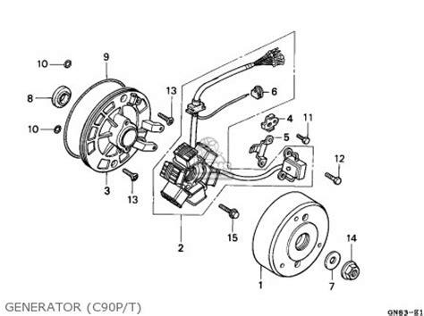 Wiring Diagram Honda Astrea Grand by Wire Harness Problem C90club Co Uk