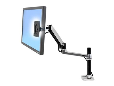 Lx Desk Mount Lcd Arm by Ergotron Lx Pole Desk Mount Lcd Monitor Arm
