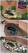 DIY Garden Fountain Landscaping Ideas & Projects with diy garden fountain ideas