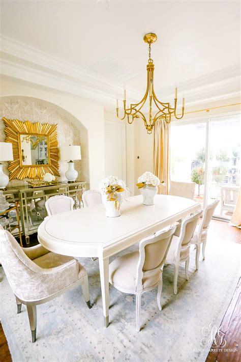 Glam Dining Room Reveal  Part 2  Randi Garrett Design