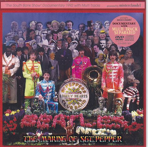 the beatles making of sgt pepper cd unofficial