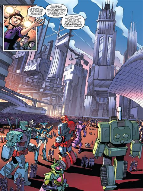 IDW First Strike #1 Itunes Preview - Transformers News ...