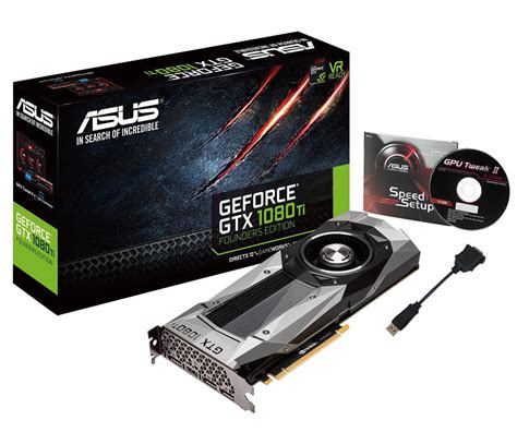 asus geforce gtx 1080 ti founders edition gpu best deals south africa