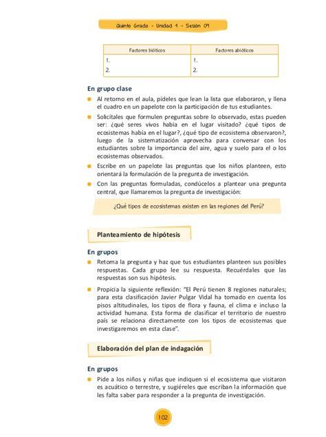 documentos primaria sesiones unidad04 quinto grado integrados 5g u4 s