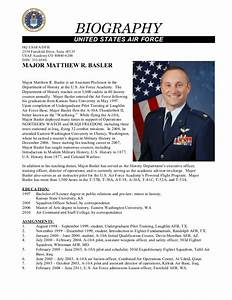 secrets for sample military bio bio examples With air force bio template