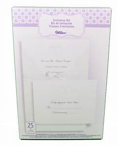 wilton wedding invitation kit embellished rings 25 count With wilton wedding invitation kit template