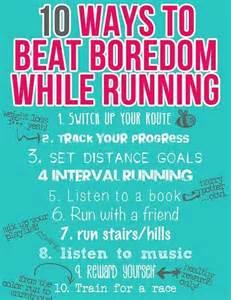 10 Ways to Beat Boredom While Running