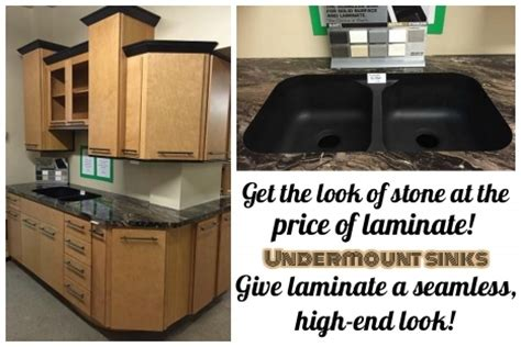 undermount sink display discount home improvement