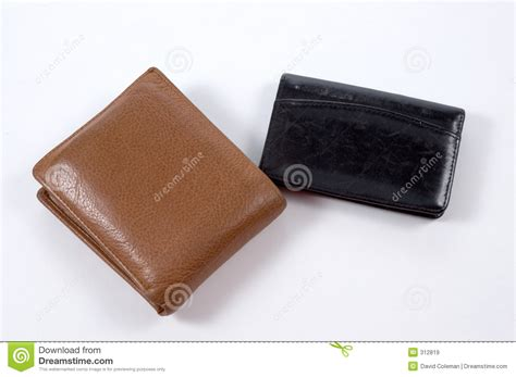 Wallet And Business Card Holder Stock Image