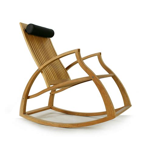 veranda wave premium teak rocking chair westminster teak