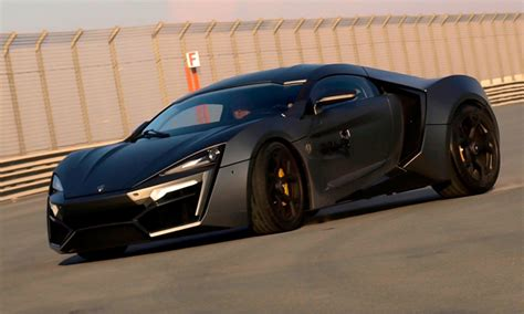 lincoln hypersport lykan hypersport third most expensive car in the world