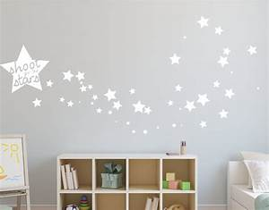 star wall decals star vinyl wall decal 148 silver With star wall decals