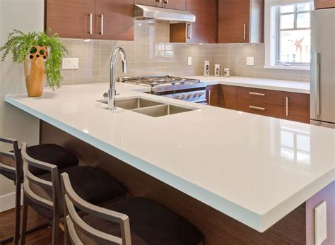 Quartz For Kitchen Countertops by Kitchen Design Gallery Great Lakes Granite Marble