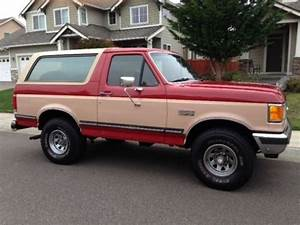 Sell Used 1988 Ford Bronco In Puyallup  Washington  United